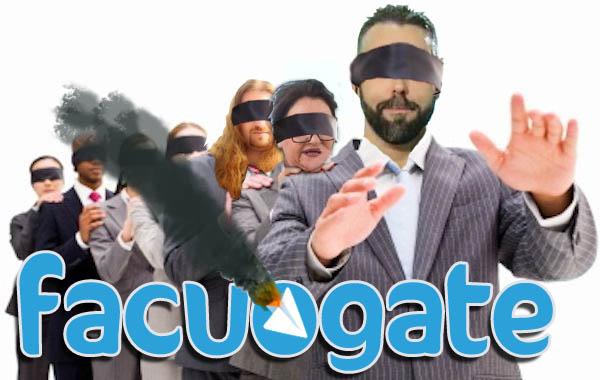 Cuando Telegram está caído, Rubén Sánchez y su grupo del Facuogate van a ciegas.